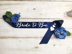 Bride to Bae Sash, Bridal Sash, Bridal party sash, Bachelorette Party Sash, Engagement Party Sash, Bridal Shower Sash by ThistleAndLaceShop on Etsy https://www.etsy.com/ca/listing/525948296/bride-to-bae-sash-bridal-sash-bridal