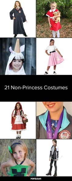 21 Princess-Free Halloween Costumes For Girls