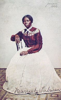 Harriet Tubman - photographed in 1868 - American abolitionist, humanitarian, armed scout and spy for the United States Army during the American Civil War. African American Culture, African American Women, African Americans, History Images, Women In History, Us History, Black History Facts, Black History Month, African History