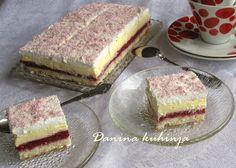 Dana Kuchyňa: Raphael kocky s malinami Creative Gift Wrapping, Creative Gifts, Croatian Recipes, Tiramisu, Cheesecake, Deserts, Cooking Recipes, Sweets, Cookies