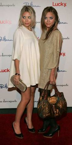 Miss Pink Style: Mary-Kate and Ashley Olsen