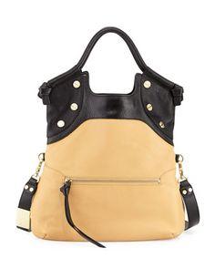 FC Lady Tote Bag, Baja/Black by Foley + Corinna at Neiman Marcus Last Call.