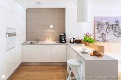 *mieszkanie kraków dębniki - Kuchnia - Styl Skandynawski - d e s e n i e
