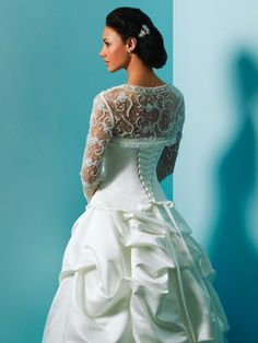 Alfred Angelo, Love the top portion as perhaps a cover?
