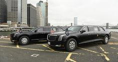 The U.S. Secret Service posted a photo of two new armored limos joining the presidential fleet. The Beast is a custom 2018 Cadillac that transverses the globe by airplane when needed, always accompanied by a second limo and an armored Chevrolet Suburban SUV that serves as a mobile communications office.