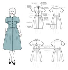 Penny by Colette Patterns