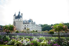 Once a royal residence, today the Chateau Chenonceau inspires with its rich painting collections and beautiful gardens. Explore this masterpiece of Gothic and Renaissance architecture, followed by lunch at the Orangerie restaurant, on day four of this French cooking vacation. #TravelFrance #chateau