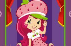 Juegos de Fresita.com - Juego: Vestidos Rosita Fresita Gratis Online - Rosita Fresita Frutillita Tarta de Fresa