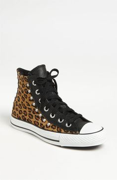 Converse Chuck Taylor® All Star® Leopard Stud High Top Sneaker | Nordstrom