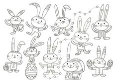 School Coloring Pages, Colouring Pages, Drawing For Kids, Art For Kids, Easter Activities For Kids, Easter Printables, Free Printable Coloring Pages, Craft Patterns, Easter Crafts