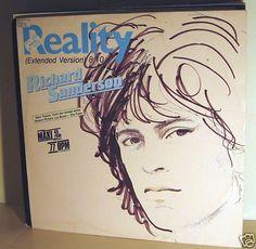 RICHARD SANDERSON -  Reality *Carrere 87* 12 MAXI