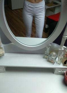 Kup mój przedmiot na #vintedpl http://www.vinted.pl/damska-odziez/rurki/13801950-nowe-biale-tregginsy-spodnie-s