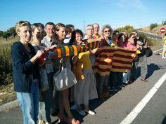 Al #quilòmetrevila-secà ens han visitat uns lituans que van fer la Via Bàltica! #ViaCatalana #11s2013 #ANC #catalanway