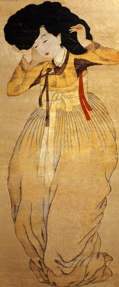 Sin Yunbok, Beautiful Woman, 18 c.