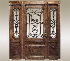 Arte de Mexico Architectural Elements- solid wood  doors