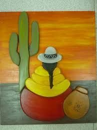 Resultado de imagen para dibujos coyas para pintar Painted Clay Pots, Painted Rocks, Hand Painted, Mexican Paintings, Southwest Art, Mexican Folk Art, Native American Art, Fabric Painting, Indian Art
