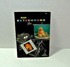 Vintage Kodak EKTACHROME Film Booklet Pamphlet 1956 Instructions Guidelines…