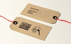 Dog & Wardrobe Brand Identity | Branch #tag #label