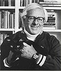 ray bradbury, we have matching cats <3