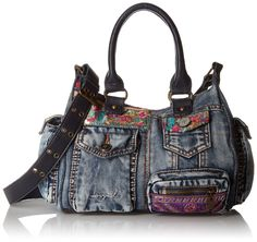 Desigual Bag London Mini Ethnic Deluxe