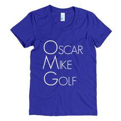 Oscar Mike Golf Women's Tee