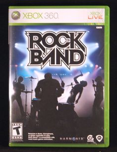 XBOX 360 Rock Band Game only.