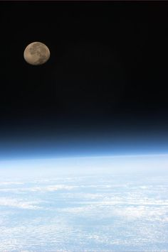 Col. Chris Hadfield  Tonight's Finale: Moonset, one of 16 per day on ISS, all marvelous to see.