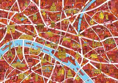 An Illustrated map collaboration for Victionary design publisher. The project where a different designer created the map for each guidebook. The design orientated travel guides were also based on first hand recommendations of creatives in each des… Paris Map, City Lights, Illustrators, City Photo, Fine Art Prints, Awards, Gallery, Creative, Design