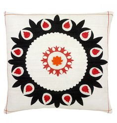 Fiji In Coral Decorative Pillow, Large