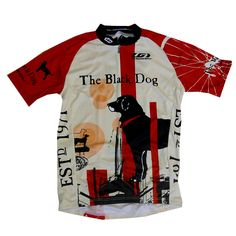 The Black Dog cycling jersey