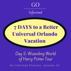 Free audio tour of the Wizarding World of Harry Potter on the Go Informed Podcast #universalorlando #harrypotter #wizardingworld #harrypotterworld
