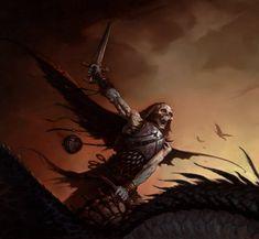 Fantasy Art of Brom Darkest artist of Fantasy Gothic Fantasy Art, High Fantasy, Sci Fi Fantasy, Tomb Kings, Death Knight, American Gothic, Motorcycle Art, Science Fiction Art, Fantasy Illustration