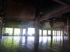 The hall of Senjokaku