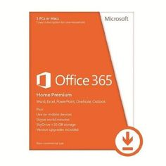 Microsoft Office 365 Home Is The Best Office For You And Your Family. Get A 1-year Subscri