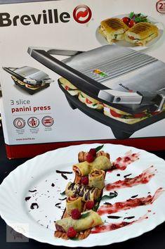 Clatite cu finetti si zmeura - CAIETUL CU RETETE Sushi, Tacos, Mexican, Ethnic Recipes, Rome, Mexicans, Sushi Rolls