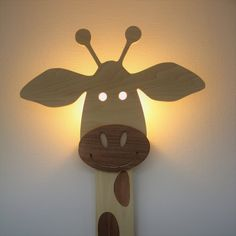 Wall decals for kids are a great way to decorate your child's room. Young children tend to go through the … Baby Boy Rooms, Baby Room, Giraffe Lamp, Newborn Nursery, Handmade Lamps, Lampe Led, Led Lamp, Kids Wall Decals, Paint Colors For Living Room