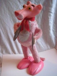 KEWL ~  Vintage Pink Panther Cymbal Playing Wind Up Toy from Illco Toys 1970'S | eBay