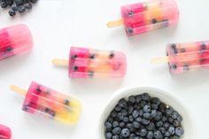 Homemade ijslollies