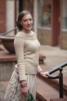 Ravelry: Freyja Sweater pattern by Courtney Kelley-free pattern