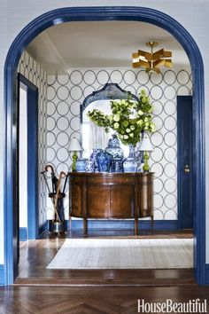 The Navy Chinoiserie