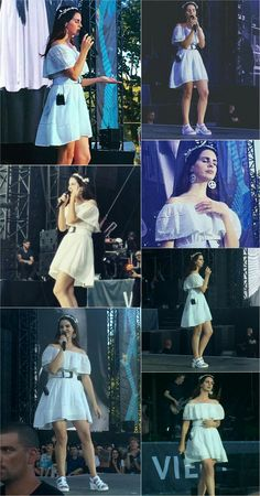 Lana Del Rey at the Vieilles Charrues Festival in France #LDR