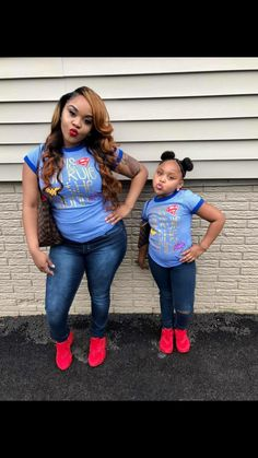¥~ Ayyyyye, its ya J ... Follow me for MORE great things. Love ya . Mommy And Me Outfits, Family Outfits, Kids Outfits, Future Daughter, Daughter Love, Mother Daughters, Mother Daughter Fashion, Cute Kids Fashion, Mommy Style