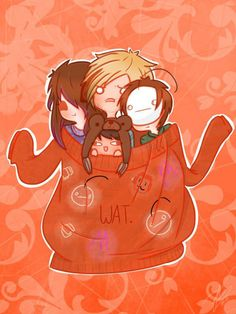 MangaMinx, Pewdiepie, CinnamonToastKen, Cryaotic. When this bunch plays Prop Hunt, it is the funniest thing ever... xD