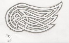 Celtic Knotted style Wing by ~Vicious-Serenity on deviantART