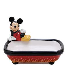 Mickey Mouse & Minnie Mouse Mickey Mouse Soap Dish | zulily