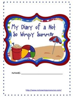"""This is a summer journal designed by students after being asked, """"How can you help make your summer meaningful?"""" This journal includes a variety of. End Of School Year, Beginning Of School, Summer School, First Day Of School, School Fun, Summer Fun, Summer Crafts, School Stuff, School Ideas"""