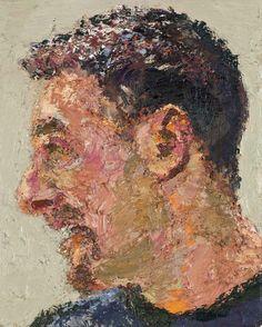 Yisrael Dror Hemed, Profile, 2012, oil on canvas, 30x24 cm