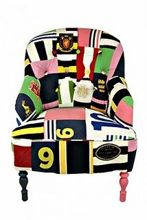 Kelly Swallow makes patchwork modern vintage chairs that are a true joy to look at and must be even a greater joy to own. Her Matt Black Vintage Grand Funky Chairs, Colorful Chairs, Vintage Chairs, Modern Chairs, Kids Room Furniture, Funky Furniture, Furniture Ideas, Patchwork Chair, Patchwork Designs