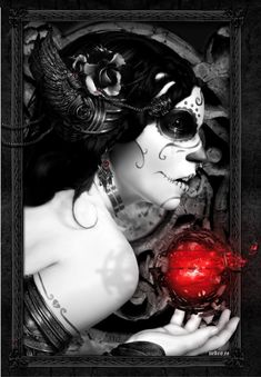 Owl Queen Illustrations By Spanish Illustrator & Digital Artist Borja Fresco Nekro. With a unique and personal style, marked by a desaturated color range with small touches of color, Nekro works especially with photocomposition.