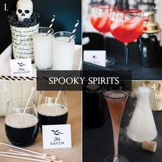 October Spooky Spirits - Lucky in Love Wedding Planning Blog - Seattle Weddings at Banquetevent.com
